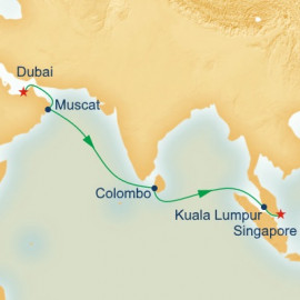 Sri Lanka and Malaysia Princess Cruises Cruise