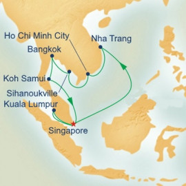Southeast Asia with Solar Eclipse Princess Cruises Cruise