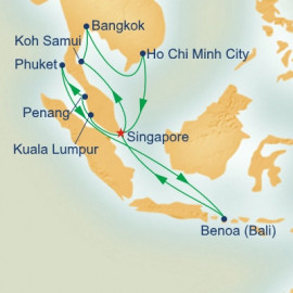 Malaysia Thailand and Vietnam Grand Adventure Princess Cruises Cruise