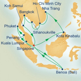 Southeast Asia Grand Adventure Itinerary