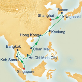 Southeast Asia and China Princess Cruises Cruise