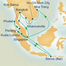 Southeast Asia Grand Adventure with Solar Eclipse Princess Cruises Cruise