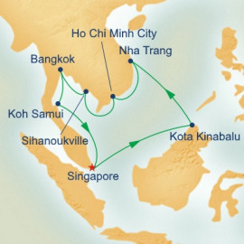 Southeast Asia Princess Cruises Cruise