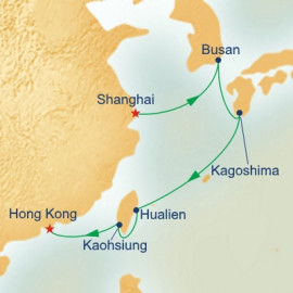 Korea Japan and Taiwan Princess Cruises Cruise