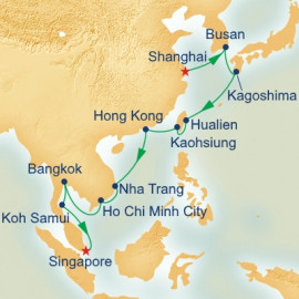 Grand Asia Princess Cruises Cruise