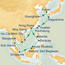 China Japan and Southeast Asia Princess Cruises Cruise