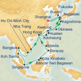 Circle Asia Princess Cruises Cruise