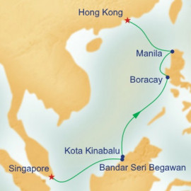 Borneo and the Philippines Princess Cruises Cruise
