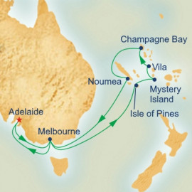 New Caledonia and Vanuatu Princess Cruises Cruise