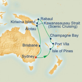 Papua New Guinea and South Pacific Princess Cruises Cruise