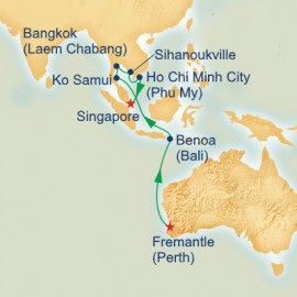 Treasures of Asia Itinerary