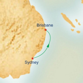Sydney to Brisbane Princess Cruises Cruise