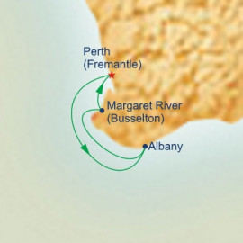 Albany and Margaret River Explorer Princess Cruises Cruise