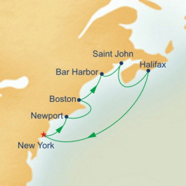 Canada and New England Itinerary