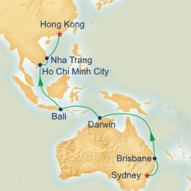 Australia and Asia Itinerary