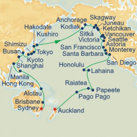 Circle Pacific Sydney to Auckland Princess Cruises Cruise