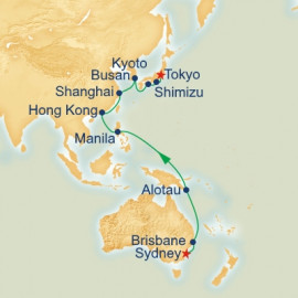 Sydney to Tokyo Itinerary