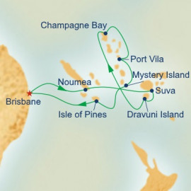 Fiji Princess Cruises Cruise