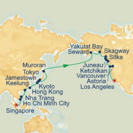 Southeast Asia Japan and Alaska Grand Adventure Princess Cruises Cruise