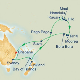 Hawaii and Tahiti Itinerary
