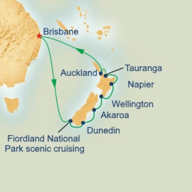 New Zealand Princess Cruises Cruise