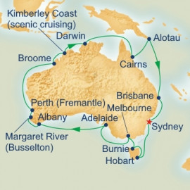 Around Australia Princess Cruises Cruise