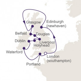 British Isles and Beatlemania  Regent Seven Seas Cruises Cruise