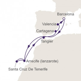 Colorful Spain and The Canary Islands Itinerary