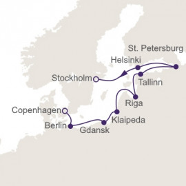 Jewels Of Northern Europe Regent Seven Seas Cruises Cruise