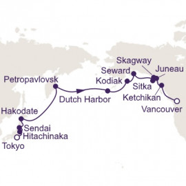 North Pacific Sojourn Regent Seven Seas Cruises Cruise