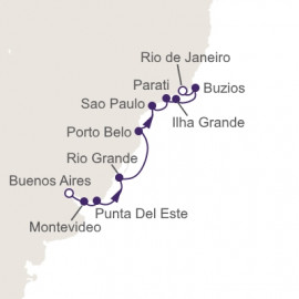 Return To Brazil Regent Seven Seas Cruises Cruise