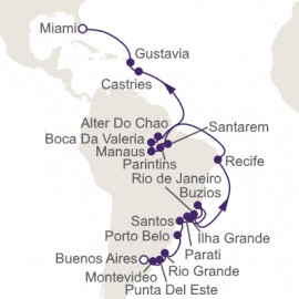 Brazillian Adventure Regent Seven Seas Cruises Cruise
