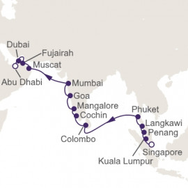 Isles Of Southeast Asia Itinerary