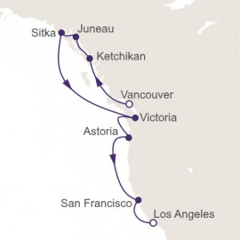 Wondrous West Coast Regent Seven Seas Cruises Cruise