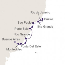 Holiday in Brazil Regent Seven Seas Cruises Cruise
