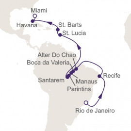 Christmas In The Amazon Itinerary
