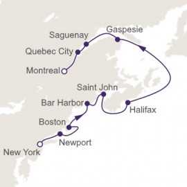 Northern Coasts and Autumn Leaves Regent Seven Seas Cruises Cruise