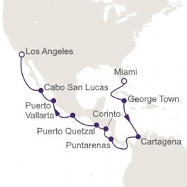 Cartagena Cabo and the Canal Itinerary