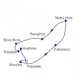 South Pacific Sunsets Itinerary