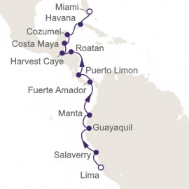 Canal Crossing and Cuba Connection Regent Seven Seas Cruises Cruise