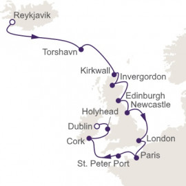 Kingdoms of the North Regent Seven Seas Cruises Cruise