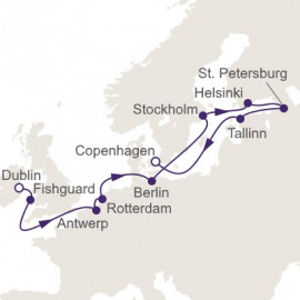 Splendors Scandinavia and the Kiel Regent Seven Seas Cruises Cruise