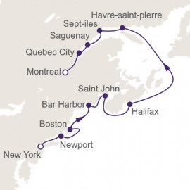 Quest to Quebec Regent Seven Seas Cruises Cruise
