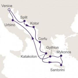 Spirit of Greece Regent Seven Seas Cruises Cruise