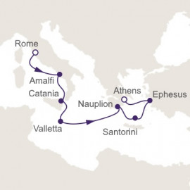 Ancient Ruins and Legendary Cities Regent Seven Seas Cruises Cruise