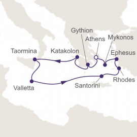 Glories of Greece Regent Seven Seas Cruises Cruise
