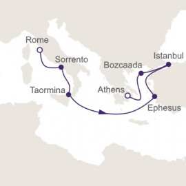 Crossroads of Antiquity Regent Seven Seas Cruises Cruise