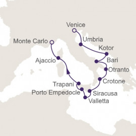 Admiration Of Amalfi Itinerary