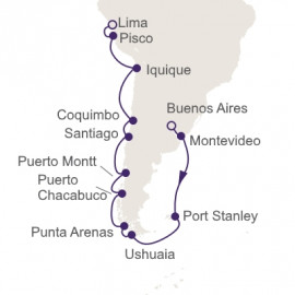 Southernmost Sojourn Regent Seven Seas Cruises Cruise
