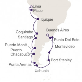 The Best Of South America Regent Seven Seas Cruises Cruise